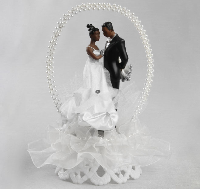 Pin African American Wedding Cake Topper Sexy Kiss Hispanic Toppers Cake On P