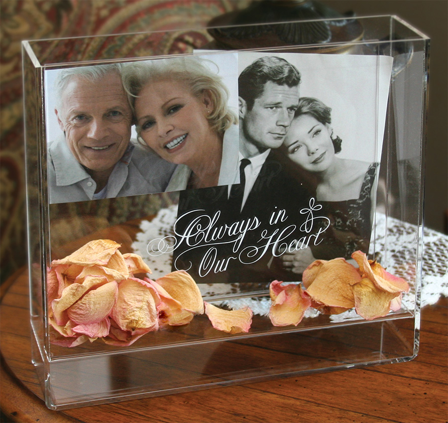 personalized christmas bereavement glass picture frame engraved memorial