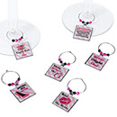 Bacherorette Wine Charms