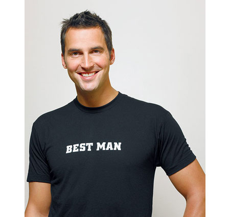 Best Man Wedding T-Shirt Iron On