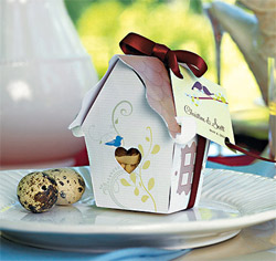 Bird House Favor Box