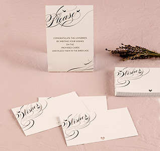 Birdcage Wish Stationery