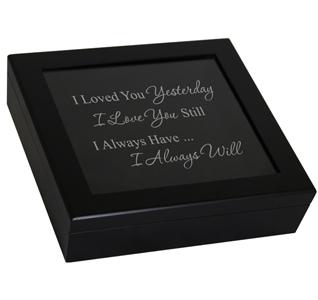 Wedding wishes keepsake shadow box black or white 3918b for Wedding dress shadow box for sale