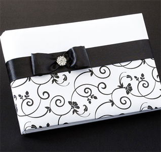 Black on White Guest Book