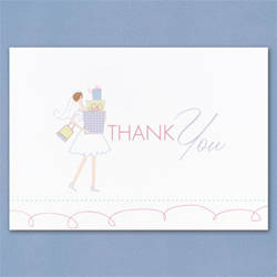 Bridal Gift Shower Thank You Cards