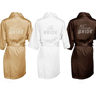 a74e369ef6 Big Bling Rhinestone Bridal Party Robes