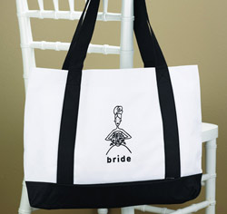 Bride Canvas Tote Bag