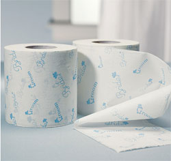 Bride & Groom Wedding Toilet Paper