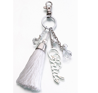 Bride Key Ring