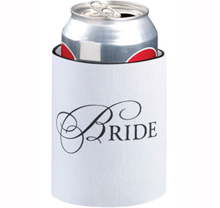 Bride Wedding Party Can Koozie Gift