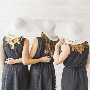 Bridesmaid Hats