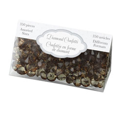 Brown Diamond Confetti