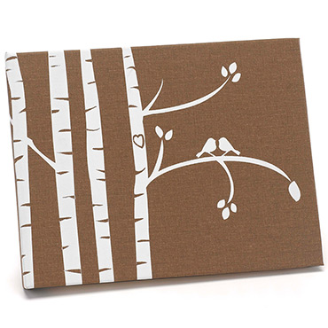 Brown Guest Books