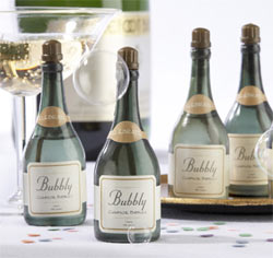 Bubbly Champagne Bubble Favors Wedding Favors