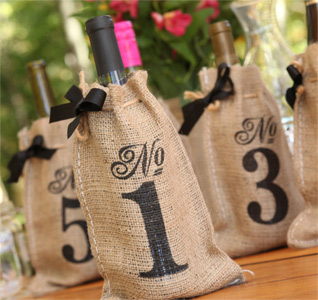 Wedding Table Numbers | Personalized Table Numbers