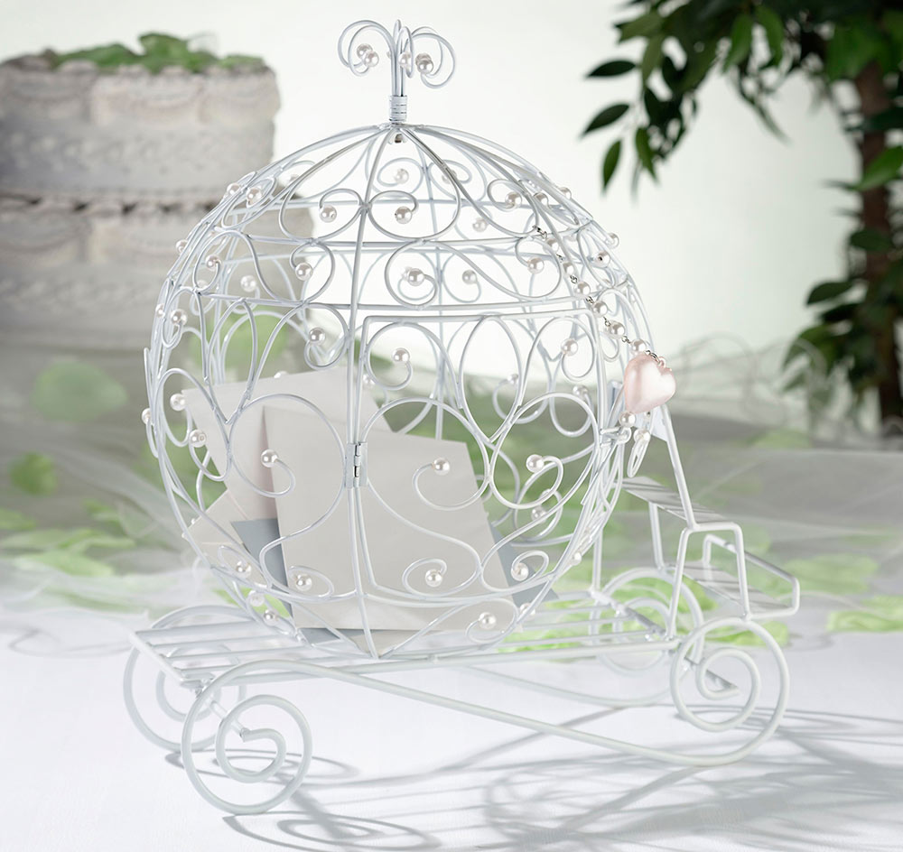 Fairy Tale Coach Wedding Card Holder | Fairy Tale Wedding Card Holder