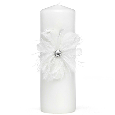 White Unity Candles