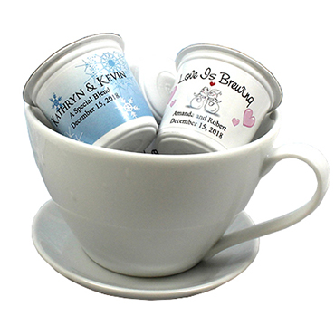 Cappuccino, Coffee and Tea Favors