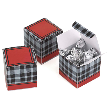 Red Favor Boxes & Bags
