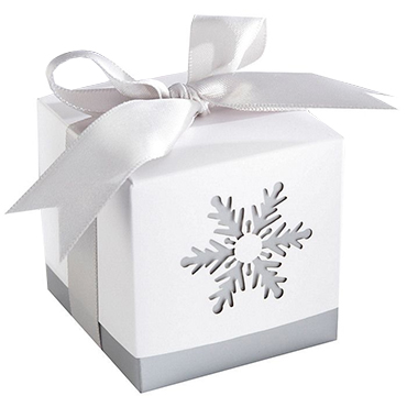 Winter Theme Wedding Favors