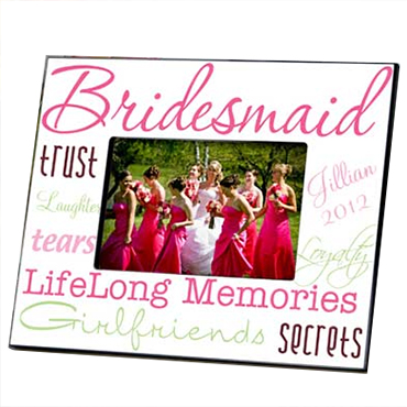 Bridesmaid Photo Frames