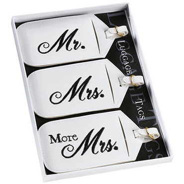 Newlywed Luggage Tags