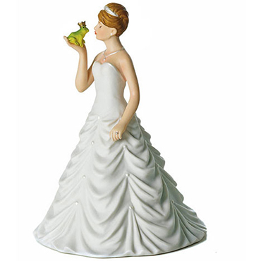 Bride Cake Top Figurines