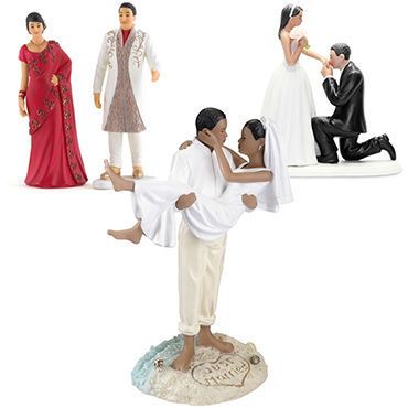 Ethnic / Multi Cultural Cake Toppers