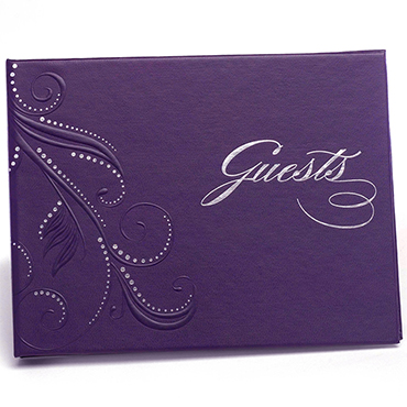 Purple Guest Books
