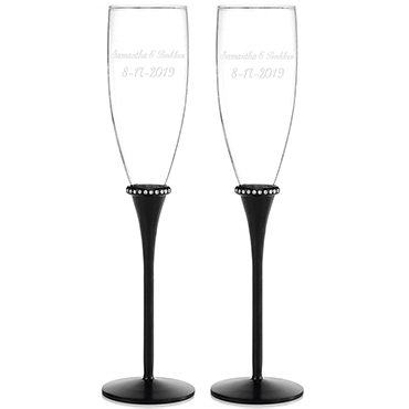 Personalized Toasting Glasses