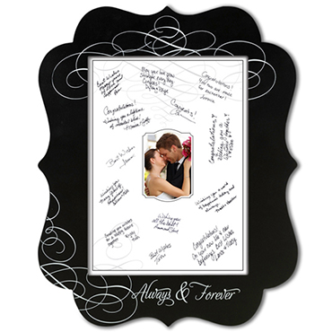 Signature Frames, Platters & Canvases