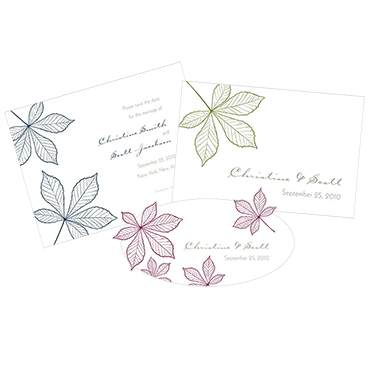 Autumn Leaf Stationery