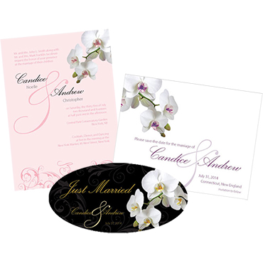 Classic Orchid Stationery
