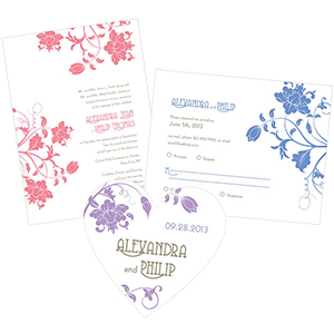 Floral Orchestra Stationery
