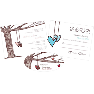 Heart Strings Stationery