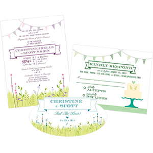 Homespun Charm Stationery