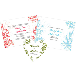 Reef Coral Stationery