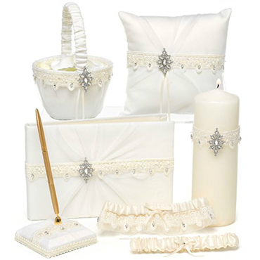 Ivory Wedding Ceremony Accessories