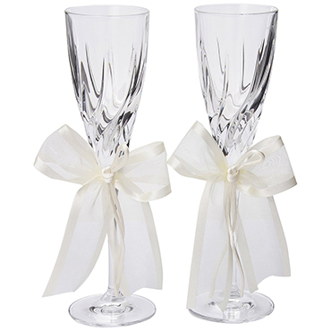 Ivory Wedding Reception Accessories