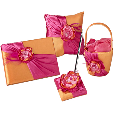 Orange Wedding Accessories
