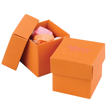 Orange Wedding Favors
