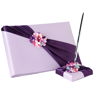 Purple Wedding Reception Accessories