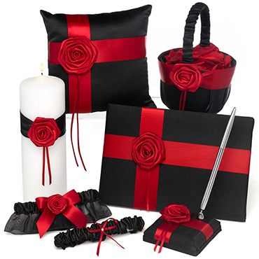 Red Wedding Ceremony Accessories