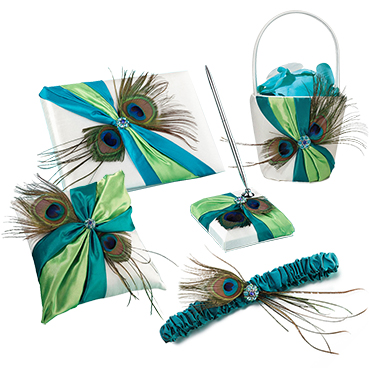 Peacock Wedding Wedding Accessories