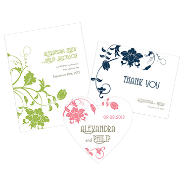 Garden/Spring Wedding Stationery
