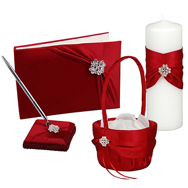 Valentine Wedding Ceremony Accessories