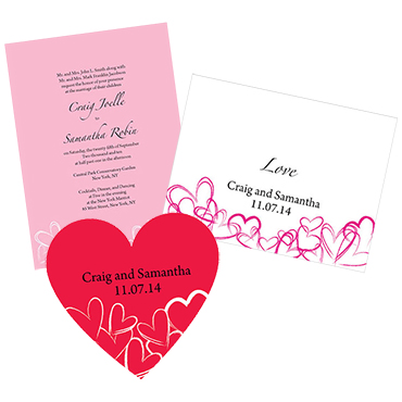 Valentine Wedding Stationery