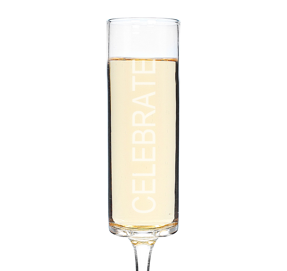 celebrate contemporary champagne flutes  wedding champagne glasses - more images