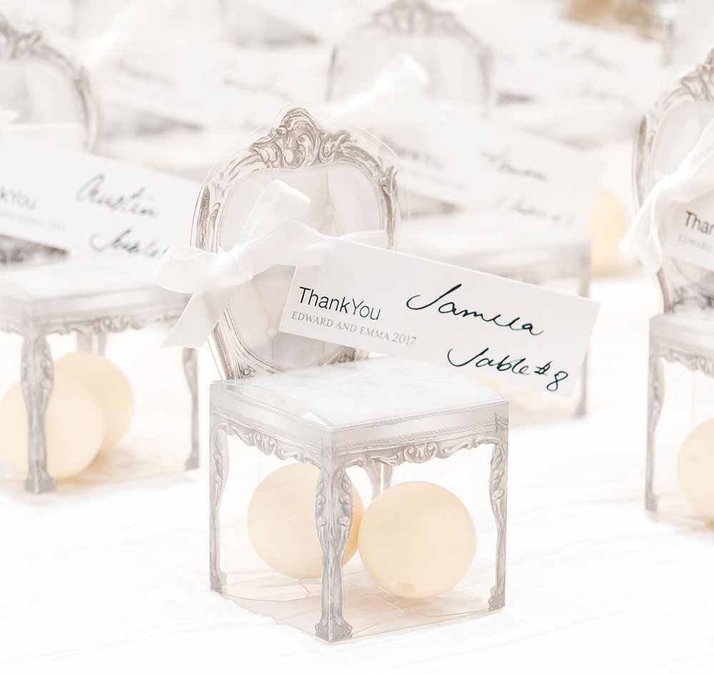 Chair Favor Boxes | Vintage Chair Favor Boxes