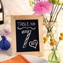 Chalkboard Frame Table Numbers
